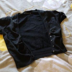 The Limited Short Sleeve Bolero Cardigan